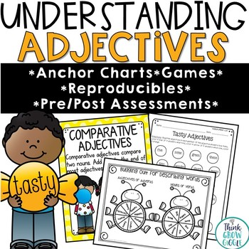 Adjectives and Adverbs Posters and Activities
