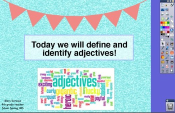 Adjectives Flipchart