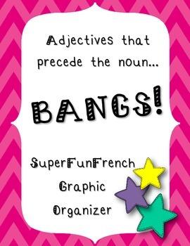 Adjectives that Precede the Noun : BANGS