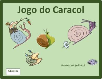 Adjectivos (Portuguese Adjectives) Caracol Snail game