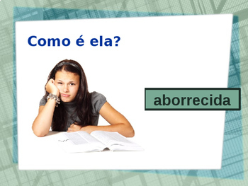 Adjetivos (Portuguese Adjectives) Opostos PowerPoint