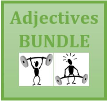 Adjetivos (Spanish Adjectives) Bundle