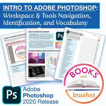 Adobe Photoshop Tools Identification Worksheets