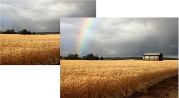 Photoshop Tutorial: Adding a Fake Rainbow to an Image