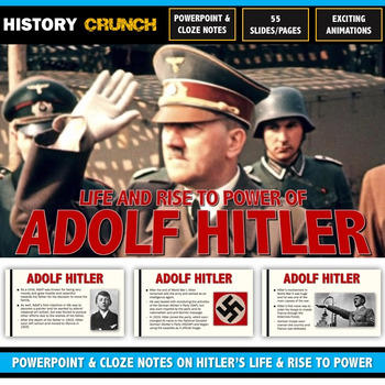 Adolf Hitler Biography, Rise to Power & Significance - Pow