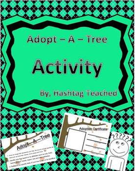 Adopt A Tree Activity