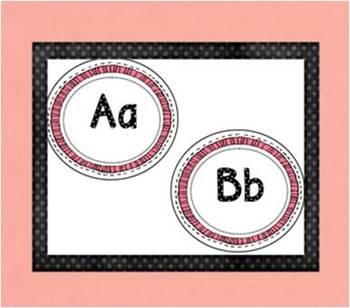 Adorable Alphabet or Word Wall Headings