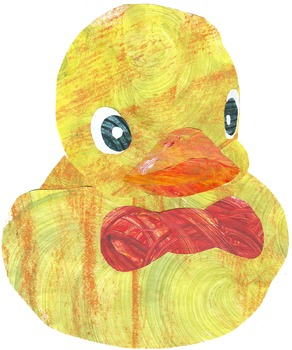 Adorable Ducks -- Colorful Clip Art for Your Spring Bullet