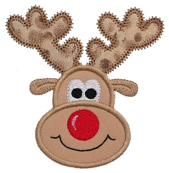 Adorable Reindeer Card with Popping Antlers & Nose