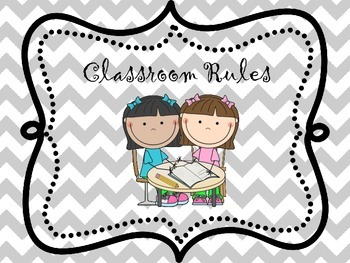 Adorable Whole Brain Teaching classroom rules posters - Wi