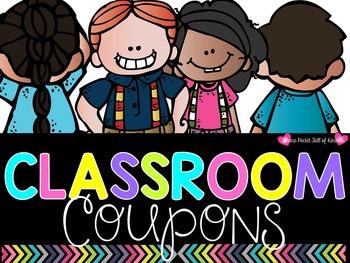 Adorably Fun Classroom Coupons