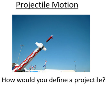 Advanced Level Physics - Projectile Motion (Lesson plan an