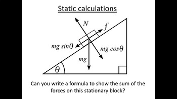 Advanced Level Physics - Static Calculations (Lesson plan
