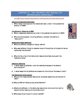 Advanced Placement U.S. History Bailey CH. 11 Study Guide