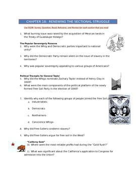 Advanced Placement U.S. History Bailey CH. 18 Study Guide
