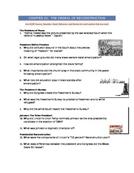 Advanced Placement U.S. History Bailey CH. 22 Study Guide