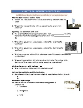 Advanced Placement U.S. History Bailey CH. 24 Study Guide