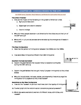 Advanced Placement U.S. History Bailey CH. 25 Study Guide