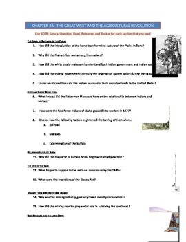 Advanced Placement U.S. History Bailey CH. 26 Study Guide