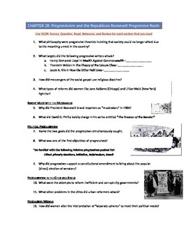 Advanced Placement U.S. History Bailey CH. 28 Study Guide