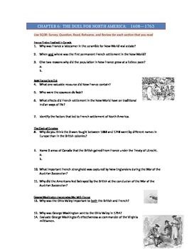 Advanced Placement U.S. History Bailey CH. 6 Study Guide Q