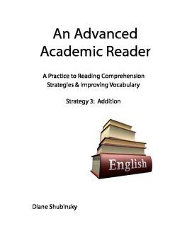 Advanced Reading Strategies & Vocabulary Practice: 3. Addition