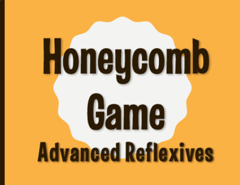 Spanish Advanced Reflexive Verb Honeycomb Partner Game