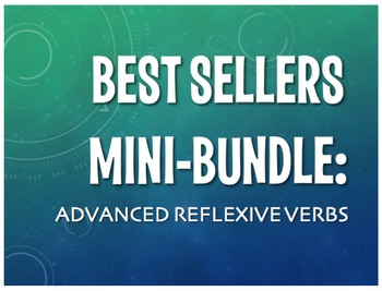 Best Sellers: Advanced Spanish Reflexive Verbs
