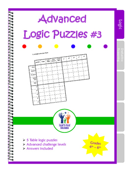Advanced Table Logic Puzzles #3