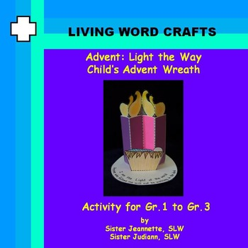 Advent 3D Light the Way Child's Advent Wreath for Gr.1 to 3