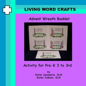 Advent Booklet With Poem for Each Week Pre-K to Gr. 3