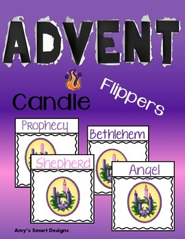 Advent Candle Flippers