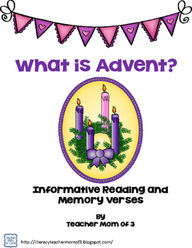 Advent: Informative Article and Memory Verses