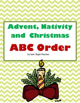 Advent, Nativity and Christmas ABC