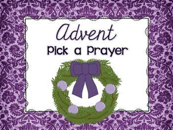 Advent: Pick a Prayer