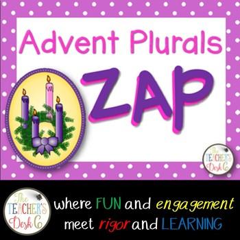 Advent Plural Nouns ZAP!