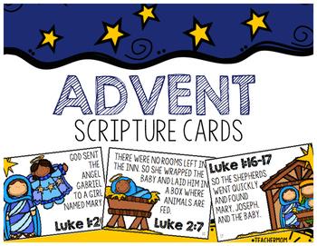 Advent Scripture Cards