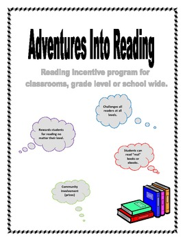 Adventure Into Reading - Reading Incentive Program