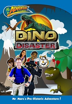 Adventure to Fitness - Dino Disaster DVD