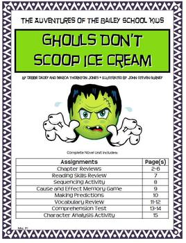 Adventures of Bailey School Kids: Ghouls Don't Scoop Ice C
