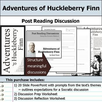 Adventures of Huckleberry Finn - Socratic Method - Post Re
