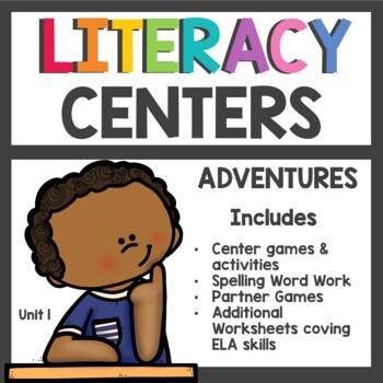 Adventures of the Superkids Unit 1 Literacy Centers