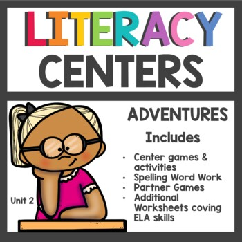 Adventures of the Superkids Unit 2 Literacy Centers