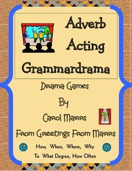 Adverb Acting Grammardrama