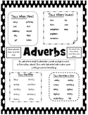 Adverb Anchor Chart