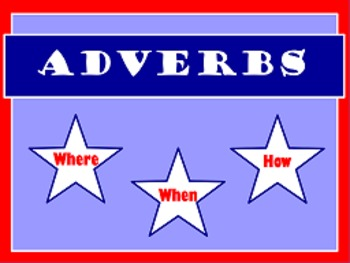Adverb Flipchart 2 Pack