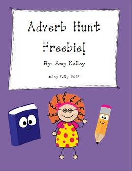 Adverb Hunt Freebie!