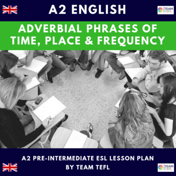Adverbial Phrases of Time, Place and Frequency A2 Pre-Int