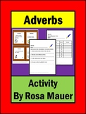 Adverbs Task Card Set