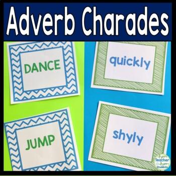 Adverbs Activity - Adverb Charades